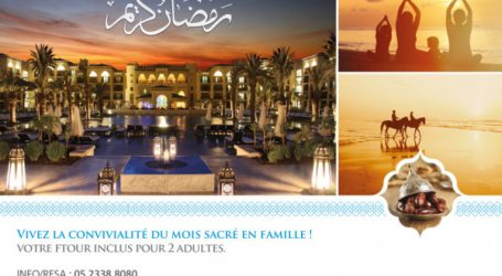 UN RAMADAN FAMILIAL A MAZAGAN BEACH & GOLF RESORT