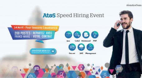 ATOS  bouscule les pratiques de recrutement pour attirer les meilleurs profils IT du marché