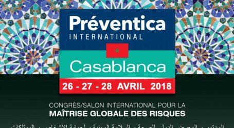 Préventica Maroc 2018 … Le rendez-vous international pour la santé et la sécurité  dans l'Entreprise