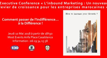 L'agence 1min30 Leader de l'Inbound Marketing à Casablanca organise avec l'American University of Leadership et le Private International Institute of Management and Technology une conférence