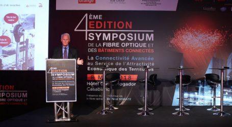 La quatrième édition du symposium de la fibre optique s'est tenue le mardi 8 Mai àCasablanca
