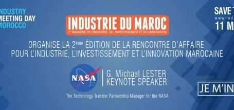 Deuxième édition Industry Meeting Day Morocco sous le thème : « L'impact de l'investissement en industrie dans la région »