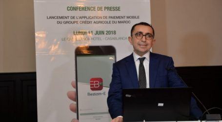Le Groupe Crédit Agricole du Maroc lance sa solution de paiement mobile Beztam-E.