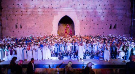 Front succès de La 49ème édition du Festival National des Arts Populaires de Marrakech