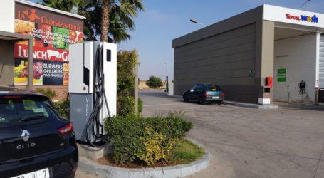Total Maroc équipe 15 stations-service de bornes de recharge pour véhicules électriques