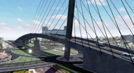 Sidi Maarouf: le pont à haubans ouvert cette semaine