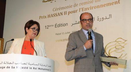 L'espace expérimental d'agriculture urbaine de la Step de Médiouna primé Par le Prix Hassan II pour l'Environnement