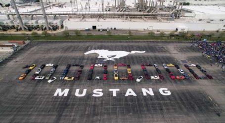 Ford célèbre la production de la 10 millionième Mustang