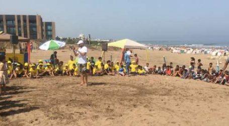 La Fondation Lydec parraine la plage « Nahla » et poursuit son programme de sensibilisation et d'animation à la plage « Lalla Meryem »