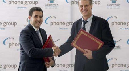Phone Group signe un partenariat stratégique avec l'école Centrale de Casablanca