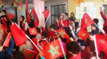 Ecole marocaine: retour du salut au drapeau
