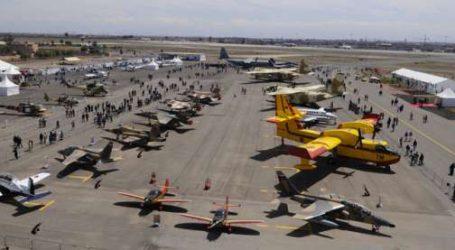 Ouverture de la 6ème édition du Salon international de l'aéronautique  et du spatial de Marrakech