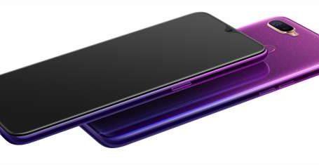 Succès des ventes du Selfie expert OPPO F9 au design « Violet Etoilé »