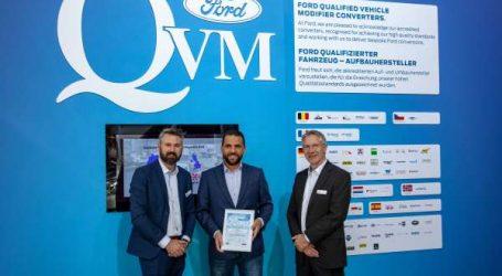 Ford lance son Programme de Modificateurs de Véhicules Qualifiés (QVM) en Afrique du Nord