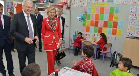 Inauguration officielle de l'École Belge de Rabat par Son Altesse Royale la Princesse Astrid de Belgique