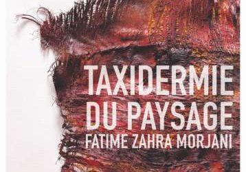 """Vernissage à la Galerie Mohamed El Fassi à Rabat de l'exposition """"TAXIDERMIE DU PAYSAGE"""" de l'artiste peintre FATIMA ZAHRA MORJANI"""