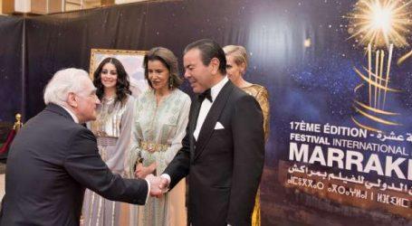 SAR le Prince Moulay Rachid préside un dîner offert par SM le Roi à l'occasion de l'ouverture officielle de la 17è édition du Festival International du Film de Marrakech