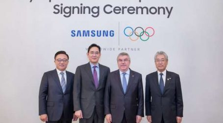LE CIO et Samsung prolo ngent leur partenariat jusqu'en 2028
