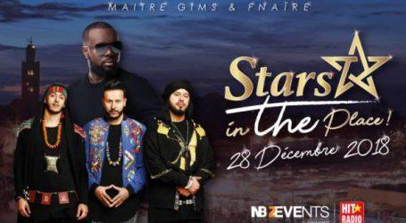 Et de deux pour STARS IN THE PLACE : Maître Gims à Marrakech  pour une soirée exceptionnelle sur la Place Jamaa El Fna