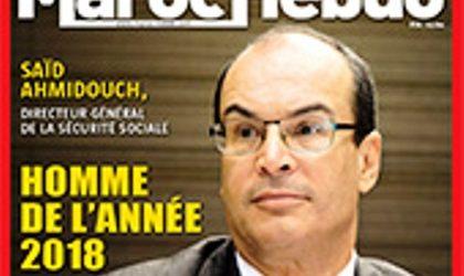 Said Ahmidouch, homme de l'année par Maroc Hebdo