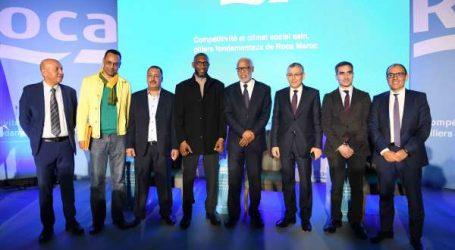Roca Maroc signe sa convention collective de travail en présence du ministre du Travail et de l'Insertion professionnelle
