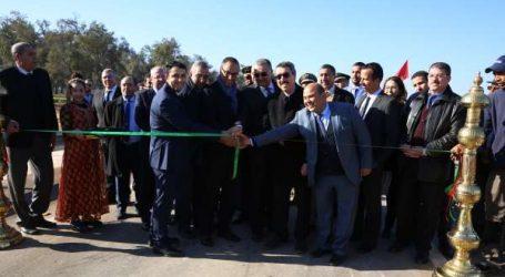 Amara a présidé la cérémonie d'inauguration de l'échangeur « Al Massira» réalisé par l'ADM
