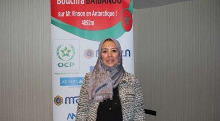 Bouchra Baibanou la première alpiniste au Maroc à avoir réalisé le challenge des sept sommets du monde