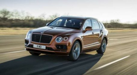 Bentley lance le SUV le plus rapide du monde