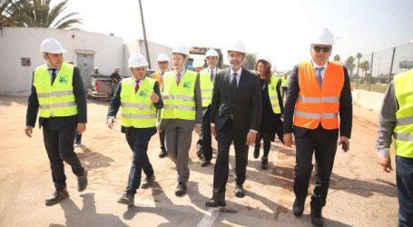 Protection de Casablanca contre les inondations … Visite technique de chantiers et ouvrages structurants