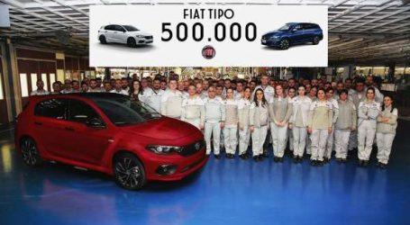 Fiat fête la production de sa 500.000ème Tipo