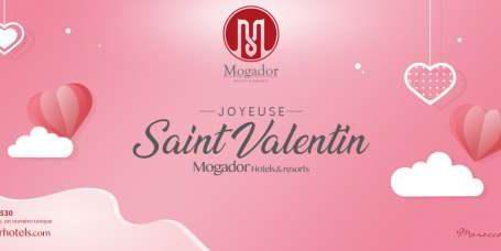 Luxe, calme et volupté pour une Saint Valentin inoubliable dans les 5 étoiles Mogador à Casablanca et Marrakech