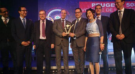 Trophées de l'automobile : La Peugeot 508 élue «Voiture de l'année 2019»