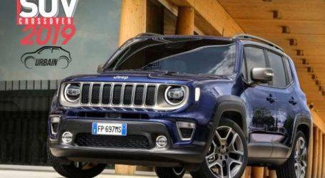 Jeep Renegade élu «SUV Urbain de l'Année 2019»