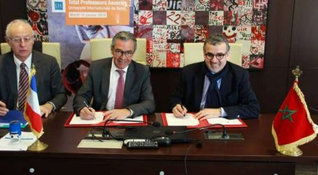 Total Maroc signe un partenariat avec l'Université Internationale de Rabat