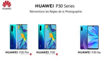 La série Huawei P30 consacrée doublement à Paris