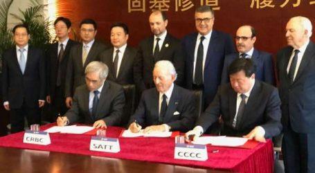 Cérémonie de signature pour la réalisation et développement de la Cité Mohammed VI Tanger Tech