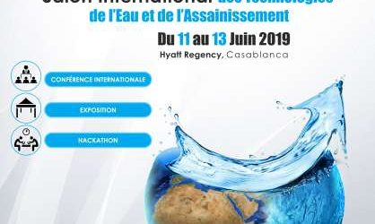 la sixième édition du Salon International des Technologies de l'Eau et de l'Assainissement « SITeau »