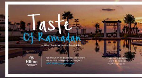 Hilton Tangier Al Houara Resort & Spa célèbre le Ramadan avec des offres inédites pour une expérience de détente inoubliable