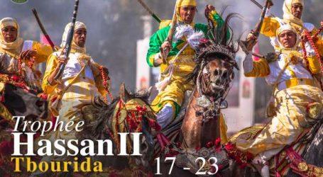 20ème édition du Trophée Hassan II «Tbourida» du 17 au 23 juin 2019