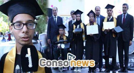 [Consonews TV] مجلس الدارالبيضاء يحتفي بالحائزين على البكالوريا من ذوي الاحتياجات الخاصة