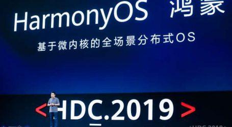 Huawei lance son nouveau système d'exploitation HarmonyOS