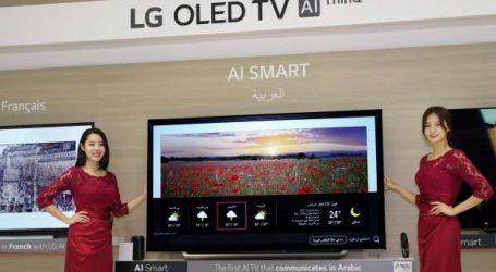 LG : LE PREMIER TELEVISEUR INTELLIGENT A COM-MANDE VOCALE EN ARABE
