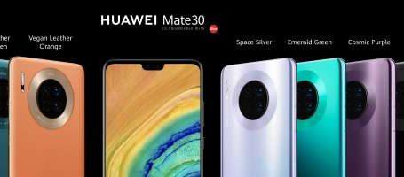 Huawei dévoile sa nouvelle gamme Mate série 30 !