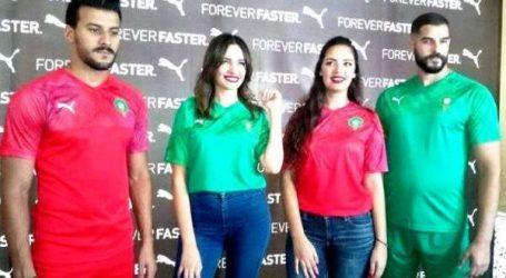Foot: le nouveau maillot Puma de la sélection nationale dévoilé