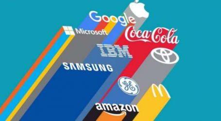Pouvoir de marques: les enseignes technologiques dominent le monde!