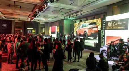 Lancement en grande pompe du nouveau Range Rover Evoque