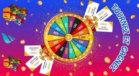 Roue de la Fortune: Marina Shopping revisite la roue du Suirti pour les soldes d'hiver!