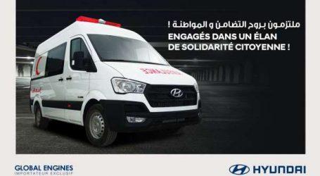 COVID-19 : Global Engines fait don de 25 Ambulances Hyundai pour soutenir la gestion de lutte contre l'épidémie