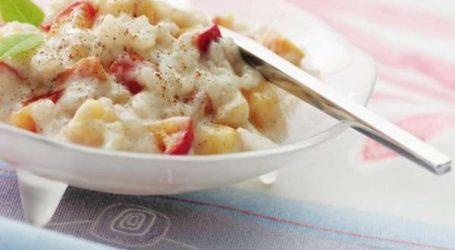 Recette du jour : Poudding de riz aux pommes