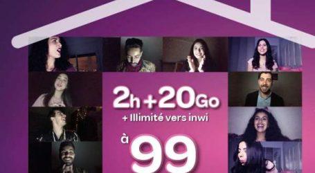 Télécoms: Inwi lance une nouvelle gamme de forfaits mobiles adaptés au confinement